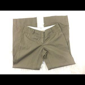 Anthropologie Elevenses Brown Wide Leg Pants Sz 6